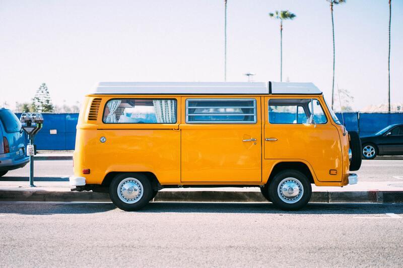 van volkswagen orange