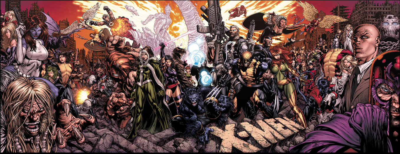 Capa de X-Men#200, de David Finch