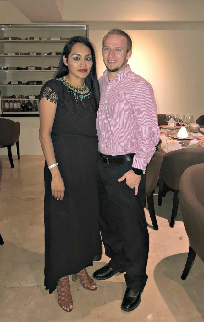 Dinner at Grand Park Royal Cancun Caribe