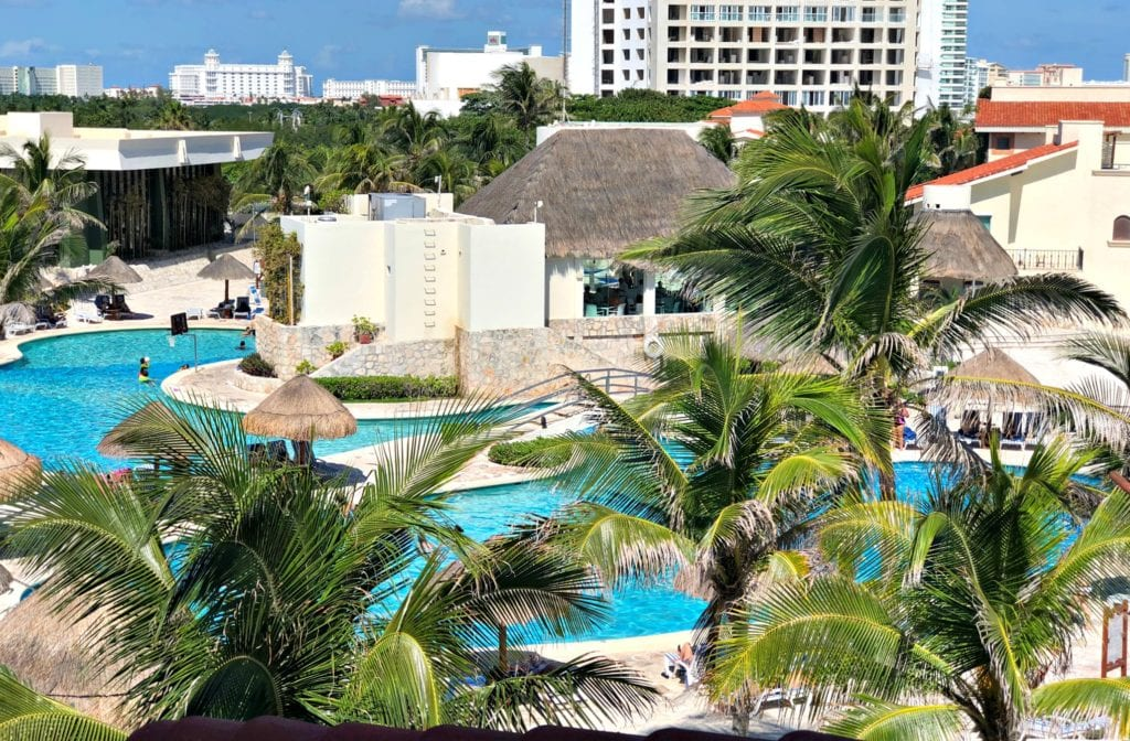 Pool at Grand Park Royal Cancun Caribe