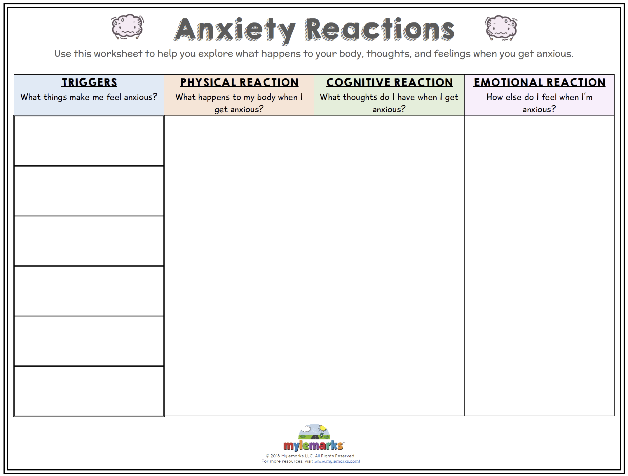 Anxiety Reactions F