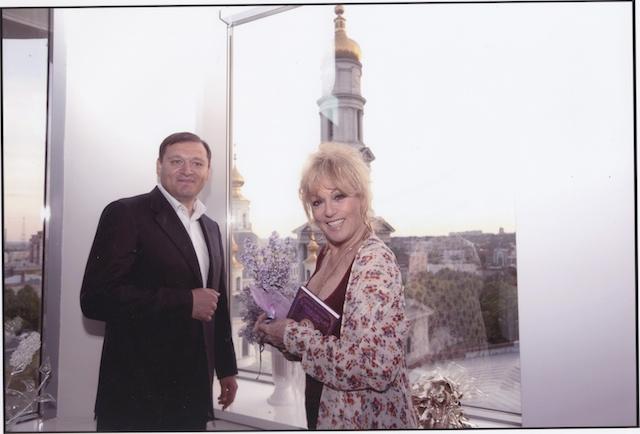 Avec le maire de Kharkov