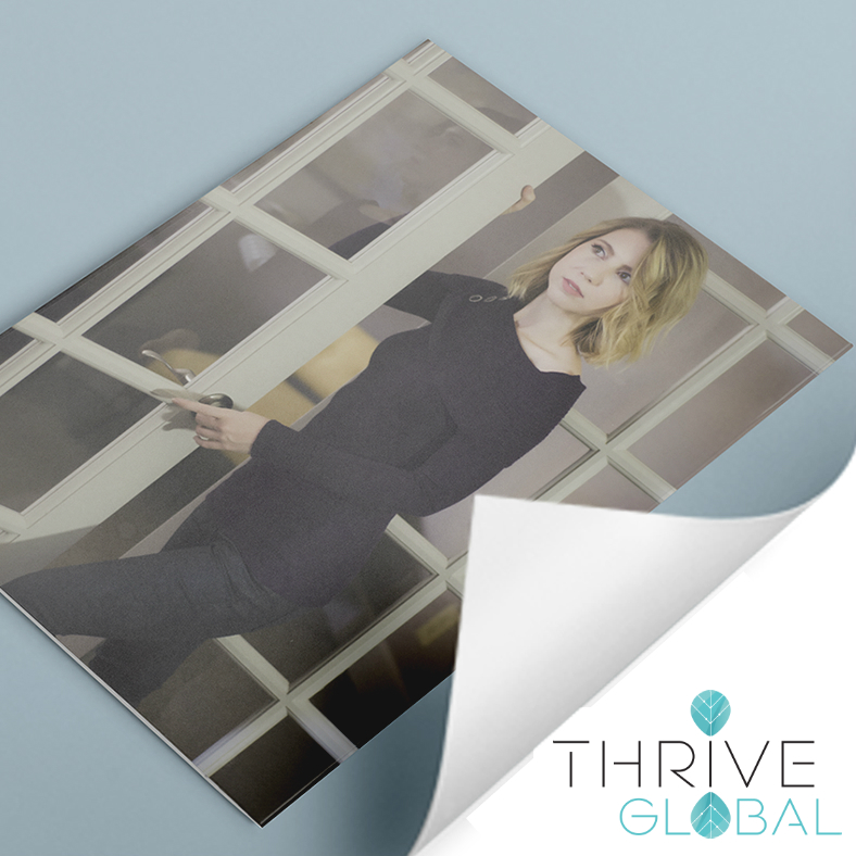 Mylène Besançon Among 99 Female Founders Tapped for Life Lessons in Thrive Global Feature