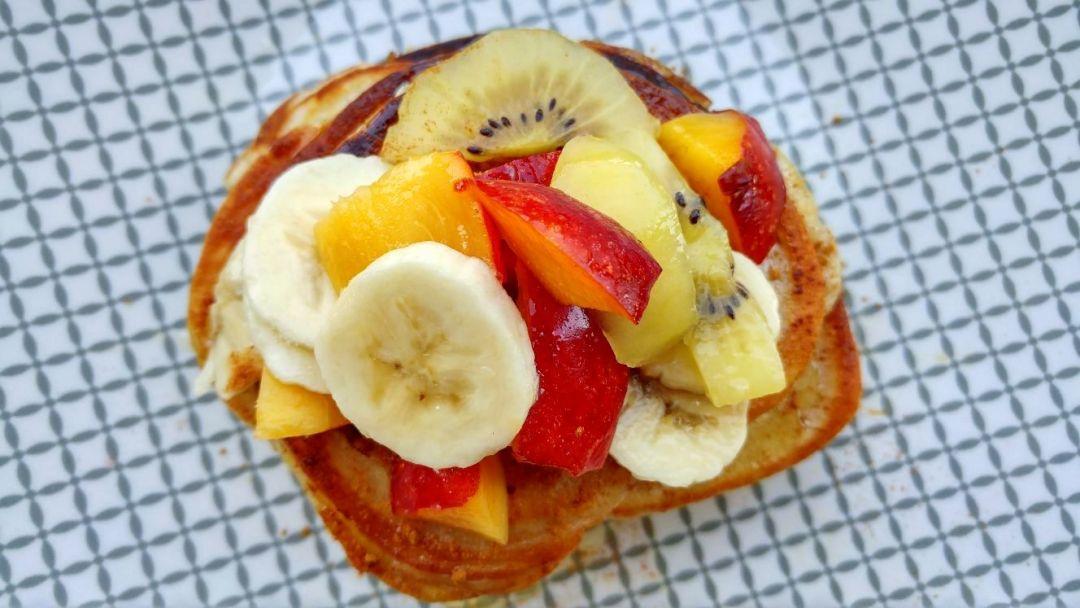 boekweitpannenkoekjes met fruit
