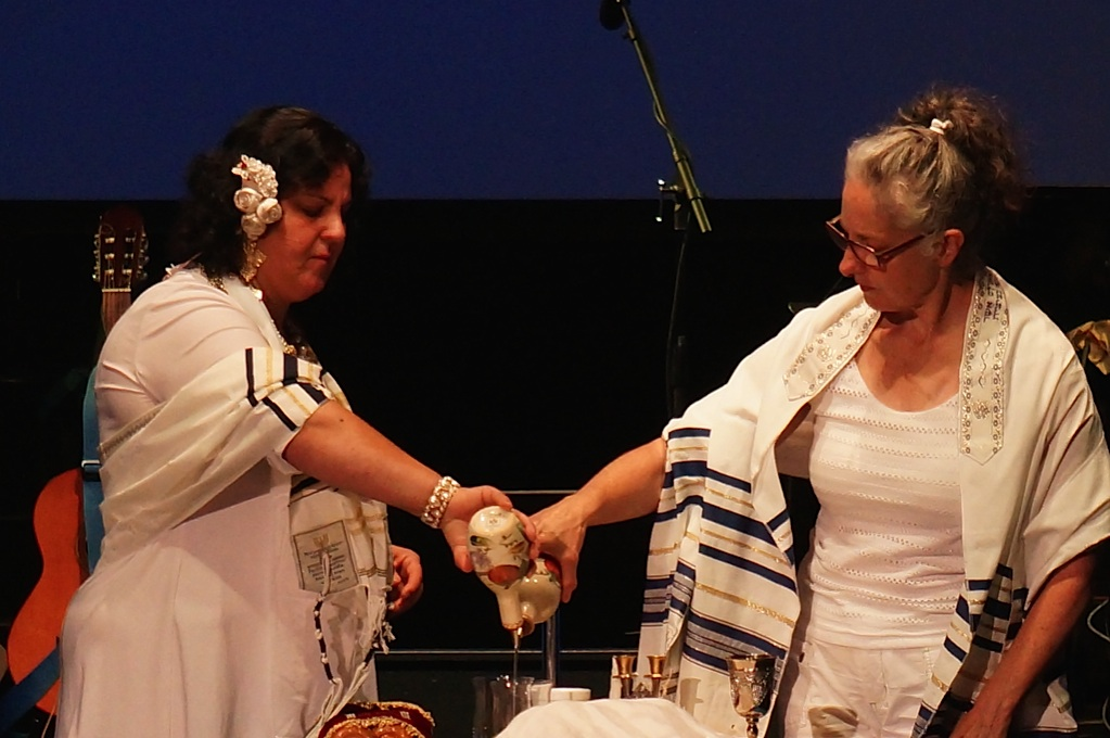 Michelle and Khalida shared the oil of jo