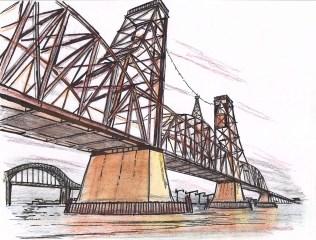 Old drawbridge at Port Newark