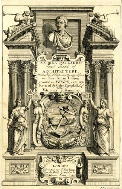 """The frontispiece or title page of """"De Architectura"""""""