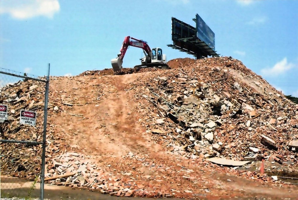 Rubble in 2009