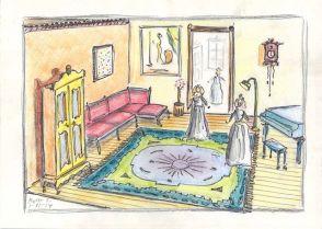 dollhouse drawing