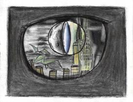 The city in the dinosaur's eye