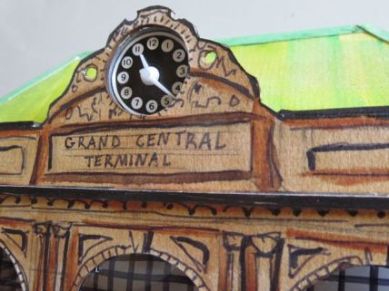Model of Grand Central Terminal