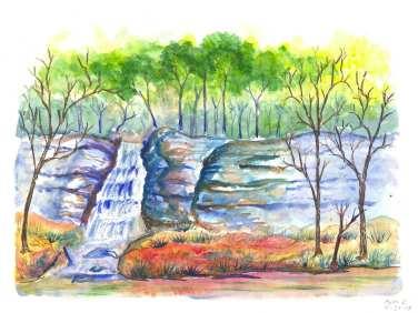 11-12-2014 camp ashokan waterfall