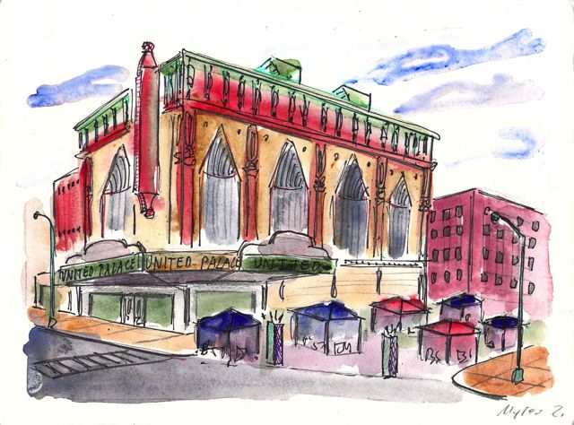Theater repurposed as United Palace Church at 175th Street
