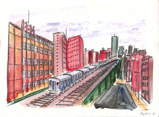 125th Streeet subway viaduct