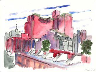 High Line and Gansevoort Street