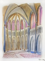 Inside Riverside Church