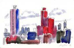 View Toward Bowery