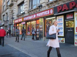 Fantasy Parties sells erotic paraphernalia.