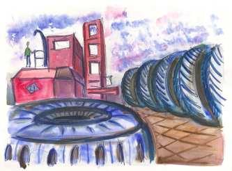 Port Newark tire yard