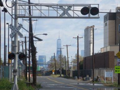 Gazing toward Manhattan