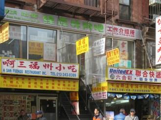 Job agencies on Eldridge Street