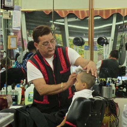 South Bronx haircut