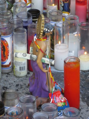 Sidewalk Shrine in Washington Heights