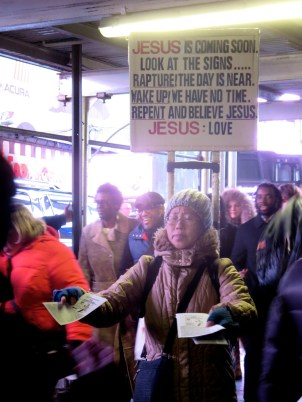 Preaching Armageddon in the Capital of Consumerism: Times Square
