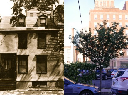 1828 Lloyd House - Sold by preservationists to Rutgers University and consequently demolished