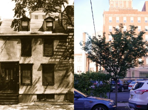 1828 Lloyd House (sold by preservationists to Rutgers University and consequently demolished without public approval))
