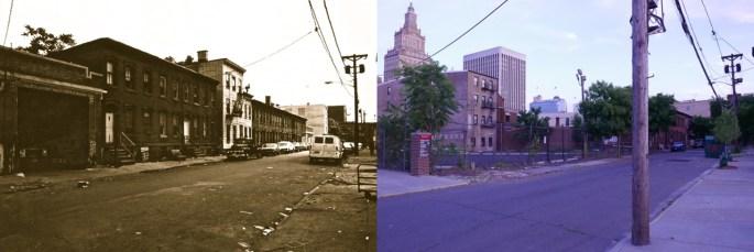 Eagle Street brownstones (demolished by Rutgers University)