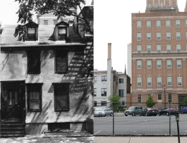 86-88 University Street, demolished by Rutgers