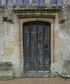 Door from churchyard to chancel.
