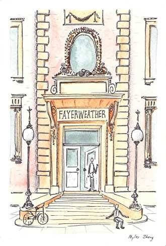 Fayerweather Hall (History Dep't)
