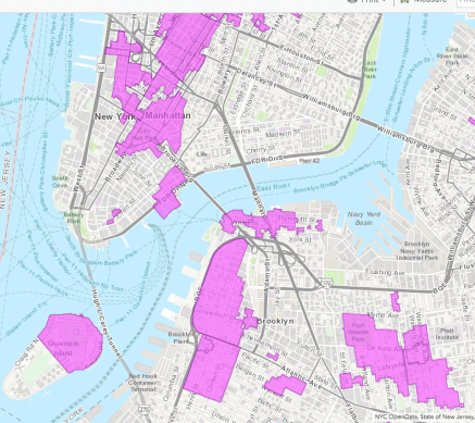 Historic Districts in NYC