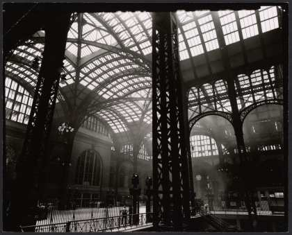 Concourse from ~Track 16 in 1935-38 by Berenice Abbott