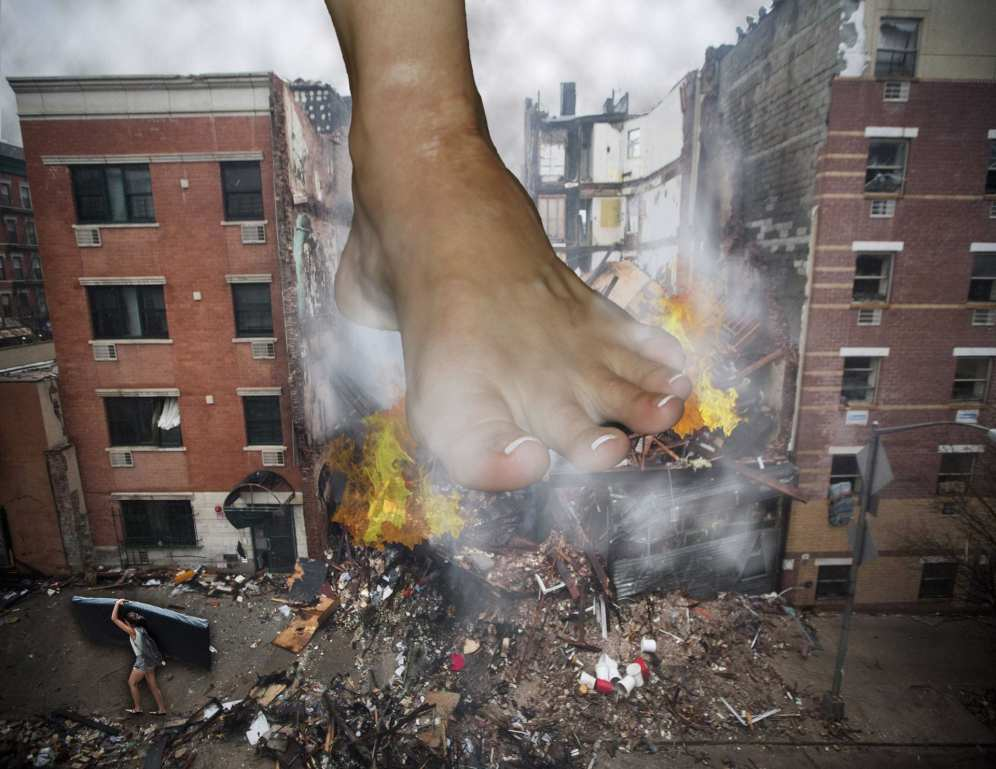 Explosion in Lower East Side