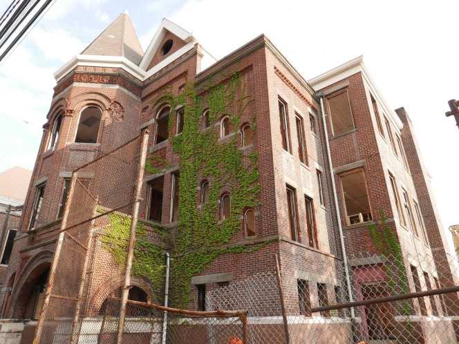 Warren Street School Demolition 56