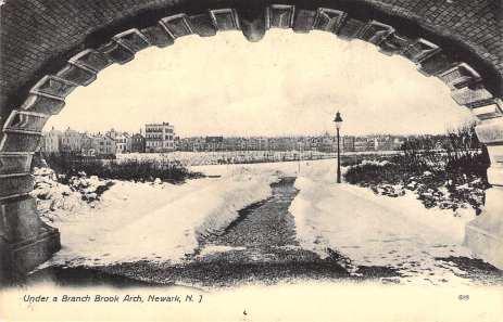 Arched bridge looking toward Branch Brook Lake
