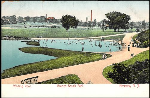 Wading pool for school children