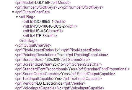 LG D150 Spotted in UA Profile