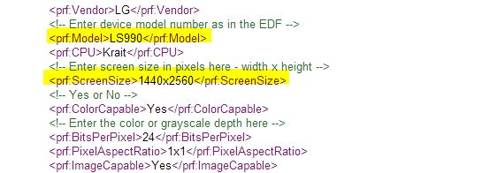 Sprint LG G3 Spotted in UAProf as LG LS990 with 3GB of RAM