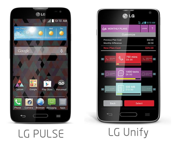 LG Pulse and LG Unify Officially Announced