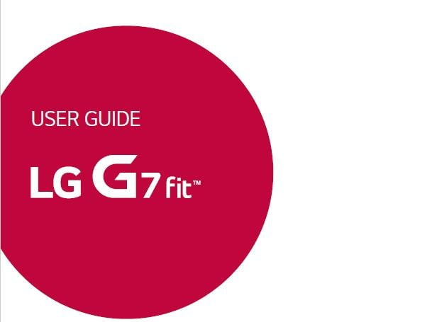 Unlocked LG G7 Fit Q850QM User Manual / Guide