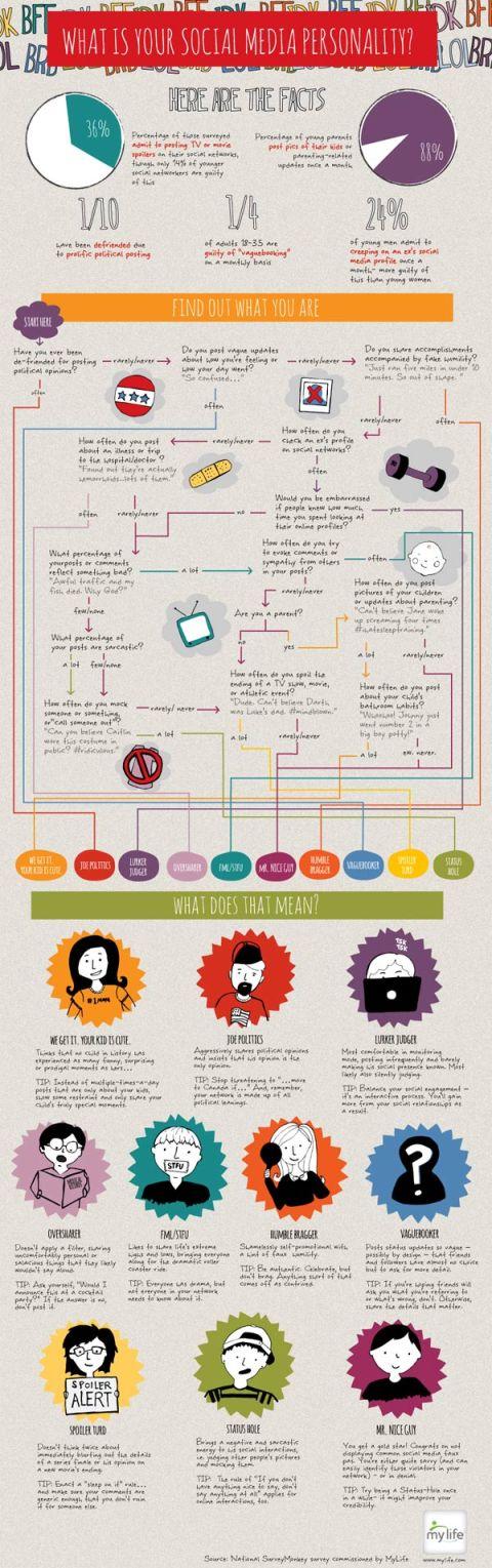 Infografik Social Networker