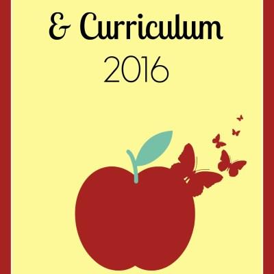 Summer Schedule & Curriculum 2016
