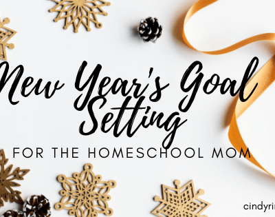 New Year's Goal Setting for the Homeschool Mom