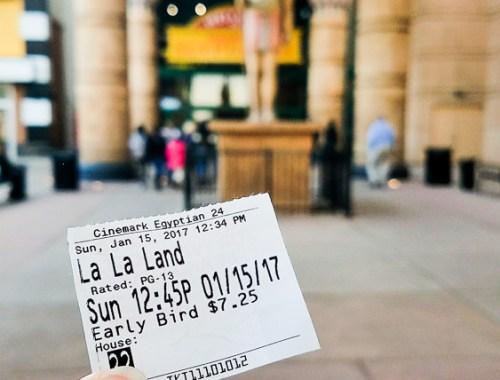 La La Land Ticket