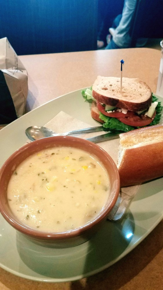 Panera Summer Corn Chowder is Back!