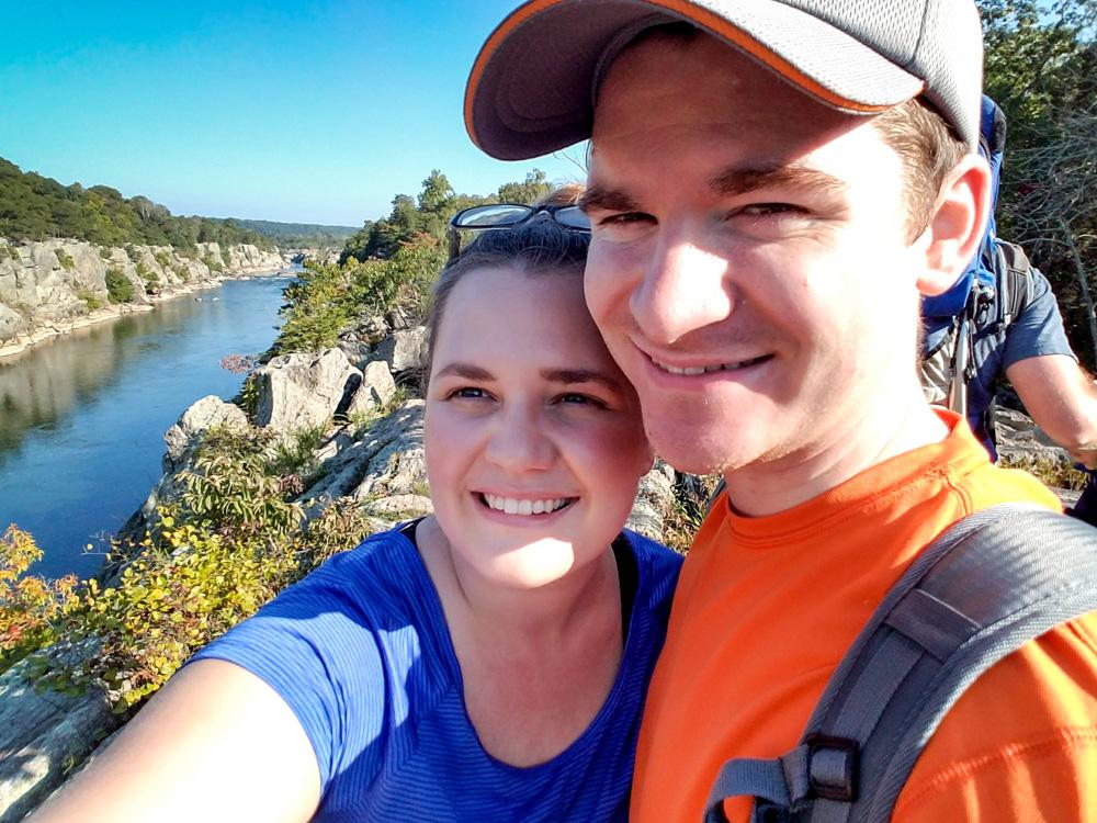 Billy Goat Trail A, Rock scrambling, Mather Gorge